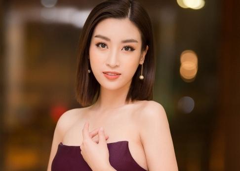 Cận cảnh nhan sắc quyến rũ của Hoa hậu Đỗ Mỹ Linh