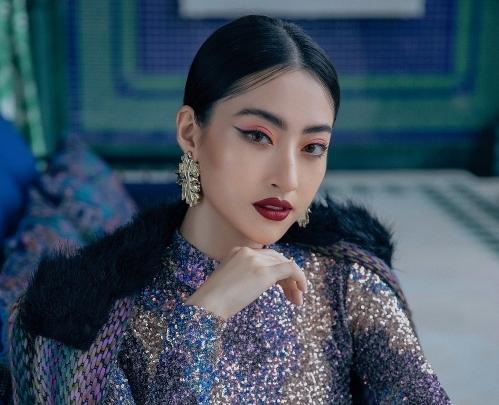 Hoa hậu Lương Thùy Linh phô diễn đường cong gợi cảm trong bộ ảnh mới