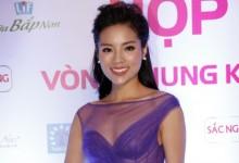 Hoa hậu Kỳ Duyên diện đầm xuyên thấu dự sự kiện