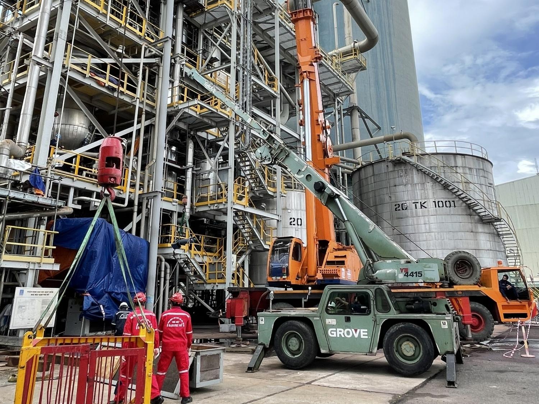 Bảo dưỡng Nhà máy Đạm Phú Mỹ: Đảm bảo an toàn, hiệu quả trong mùa dịch
