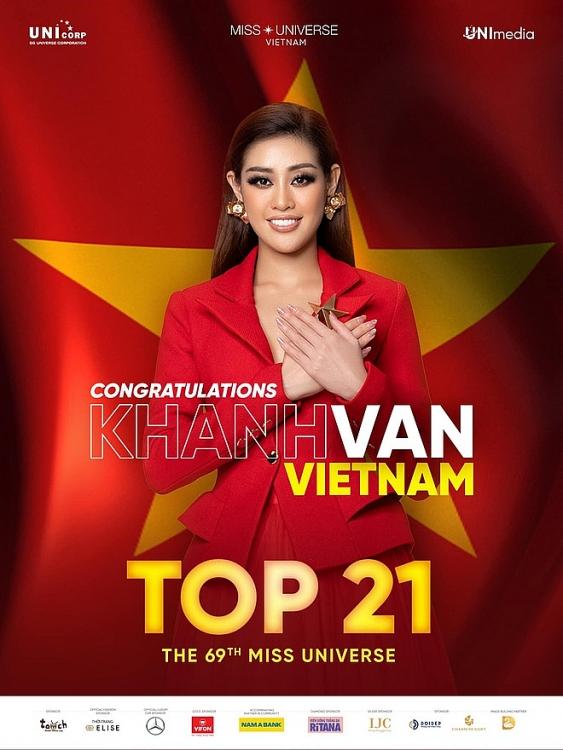 Chung kết Miss Universe 2021: Khánh Vân trượt Top 10