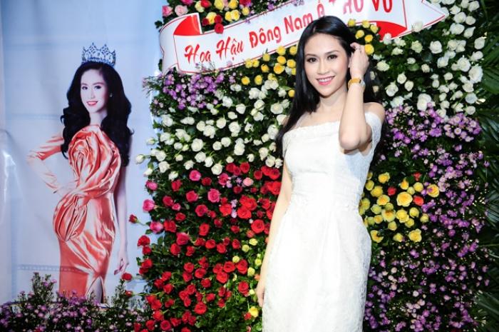 Hoa hậu Thu Vũ tái xuất sau sự cố 'thảm họa tiếng Anh'