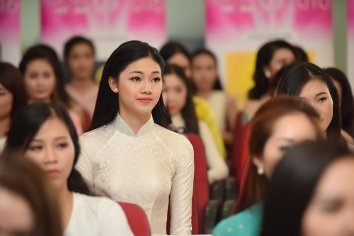 lo dien 32 nguoi dep vao chung khao phia bac hhvn 2016