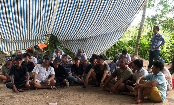 Tiền Giang: Triệt phá trường gà, bắt giữ 39 đối tượng