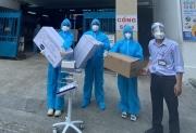 'Người đẹp Nhân ái' Thùy Tiên mua máy thở và 5 tấn gạo hỗ trợ chống dịch