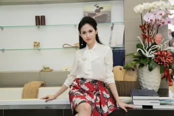 Hoa hậu Thu Vũ chọn nội thất sang trọng cho nhà mới
