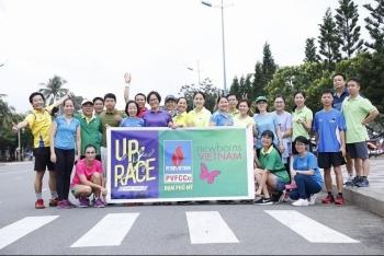 uprace 2019 team dam phu my chay bang trai tim