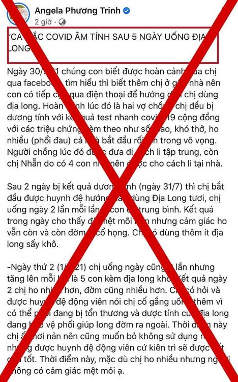 Lan truyền giun đất chữa khỏi Covid-19, Angela Phương Trinh sẽ bị xử phạt, tẩy chay?