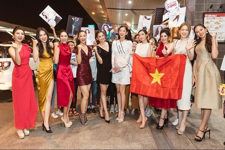Hoa hậu Lương Thùy Linh chính thức sang Anh tham dự Miss World 2019