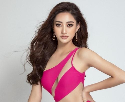 Hoa hậu Lương Thùy Linh đẹp nóng bỏng với bikini phá cách
