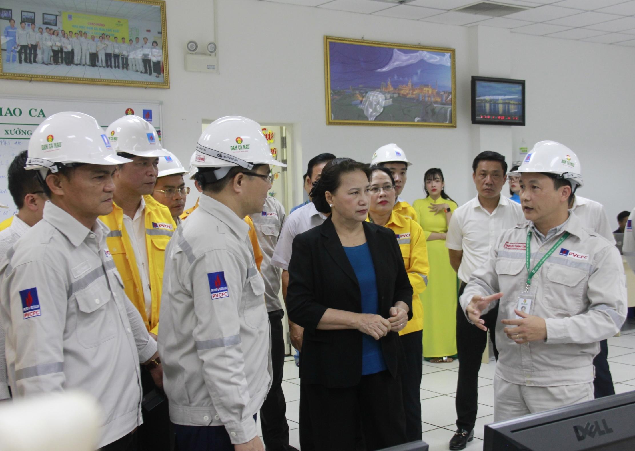 Chủ tịch Quốc hội Nguyễn Thị Kim Ngân: Cụm Khí - Điện - Đạm Cà Mau là hình mẫu của Petrovietnam