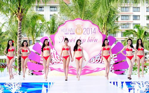 Tiết lộ về đêm chung kết Hoa hậu Việt Nam 2014