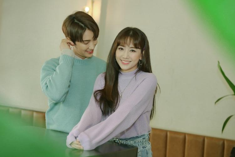 Hari Won và Park Jung Min tình cảm lãng mạn trong MV