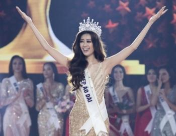 Người đẹp Khánh Vân đăng quang Hoa hậu Hoàn vũ Việt Nam 2019