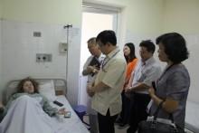Thí sinh tham dự Olympia Quốc tế phải đi cấp cứu bệnh viện