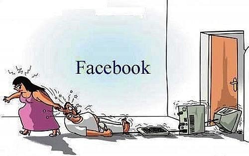 nhap vien tam than vi nghien facebook