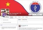 Công bố Fanpage chính thức của Bộ trưởng Y tế