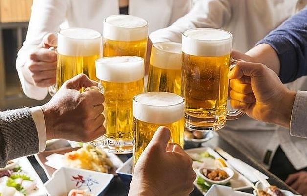 Uống rượu bia càng nhiều, chết càng nhanh