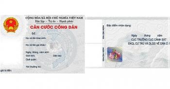 Quy định mới về mẫu thẻ căn cước công dân