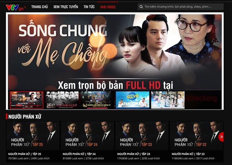 gia tang vi pham ban quyen cac chuong trinh truyen hinh tren internet