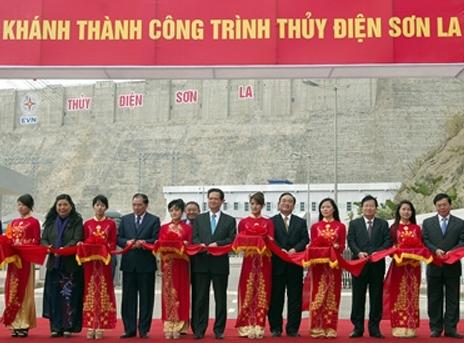 Khánh thành nhà máy thủy điện lớn nhất Đông Nam Á
