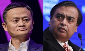Jack Ma lấy lại ngôi giàu nhất châu Á