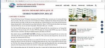 9 tỉnh, thành phố dừng hợp tác với trường GWIS