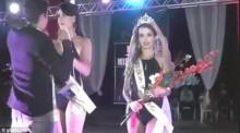 Lại thêm Hoa hậu bị trao nhầm vương miện