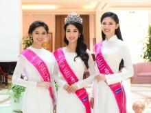 Hình ảnh đầu tiên của top 3 Hoa hậu Việt Nam 2016