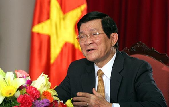 Thư của Chủ tịch nước Trương Tấn Sang nhân dịp khai giảng