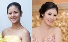 Ngỡ ngàng trước nhan sắc thật của các Hoa hậu