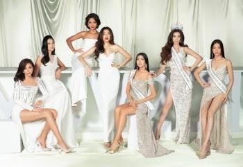 Dàn người đẹp Hoa hậu Hoàn vũ Việt Nam khoe nhan sắc rạng rỡ