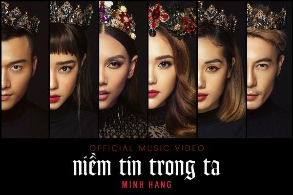 minh hang chi 1 ty dong lam mv tang team the face