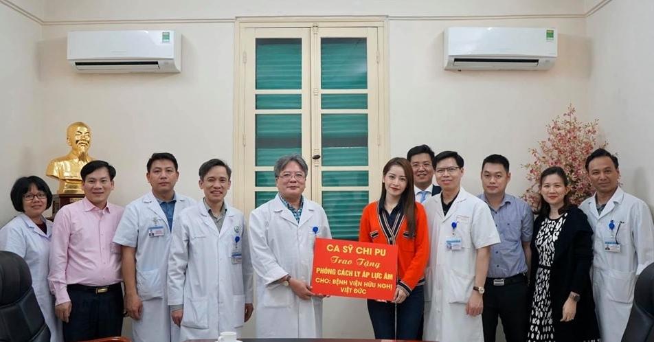 Chi Pu tặng phòng cách ly trị giá 650 triệu chống dịch Covid-19