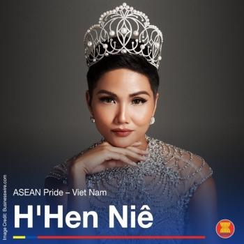 """Hoa hậu H'Hen Niê được vinh danh """"Niềm tự hào Đông Nam Á"""""""