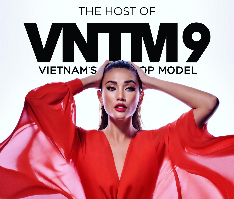 sieu mau vo hoang yen lam host vietnams next top model 2019