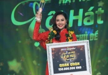 """Hà Thúy Anh giành giải quán quân """"Hãy nghe tôi hát 2019"""""""