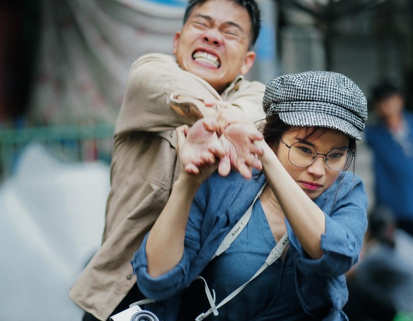 """Hoàng Yến Chibi làm """"đả nữ"""" trong phim của Charlie Nguyễn"""