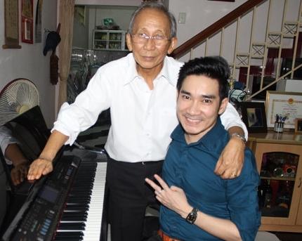 """Ca sĩ Quang Hà: """"Nhạc sĩ Nguyễn Ánh 9 là ân nhân của đời tôi"""""""