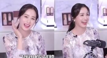 Kim Tae Hee tái xuất sau 40 ngày sinh con