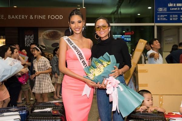 hoang thuy chinh thuc len duong tham du miss universe 2019