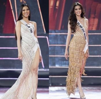 Top 10 Hoa hậu Hoàn vũ Việt Nam khoe nhan sắc quyến rũ với váy dạ hội