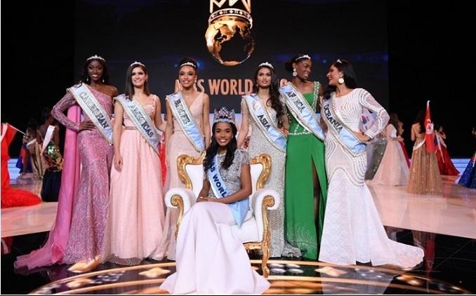 nguoi dep jamaica dang quang hoa hau the gioi 2019