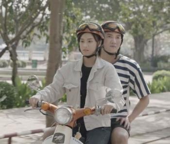 """Hoàng Yến Chibi vào vai cô nàng xe ôm trong phim """"Cuốc xe nửa đêm"""""""