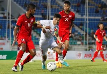 Thắng đậm Singapore, Hữu Thắng muốn chạm trán Myanmar