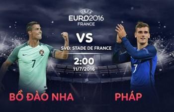truc tiep chung ket euro 2016 bo dao nha vs phap 1 0