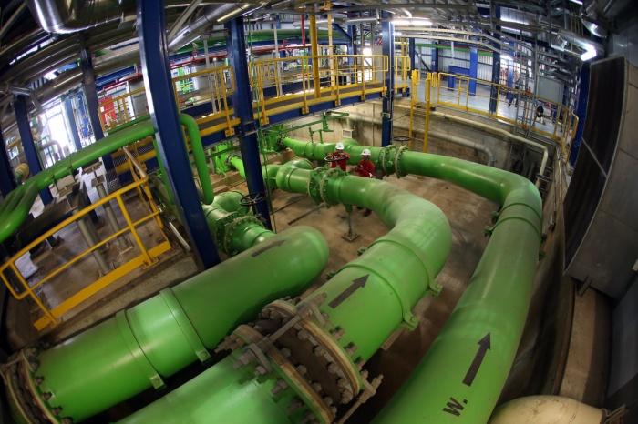 Nhà máy Nhiệt điện Nhơn Trạch 2 có công suất 750 MW, sản lượng điện trung bình khoảng 4,5 tỷ kWh/năm - Huy Hùng (TTXVN)