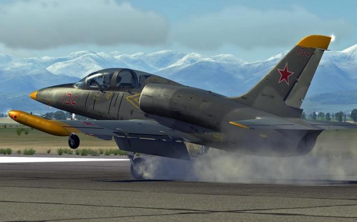 Ngoài vai trò huấn luyện phi công, khi cần L39 có thể làm nhiệm vụ chiến đấu với khả năng mang 1,2 tấn vũ khí trên 4 giá treo gồm tên lửa không đối không K13, súng máy, bom và rocket.