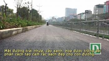 Toàn cảnh con đường dọc sông Tô Lịch chỉ để đi bộ, đi xe đạp