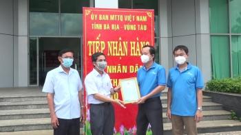 Bà Rịa - Vũng Tàu tiếp nhận 101 tấn lương thực do Thanh Hóa ủng hộ